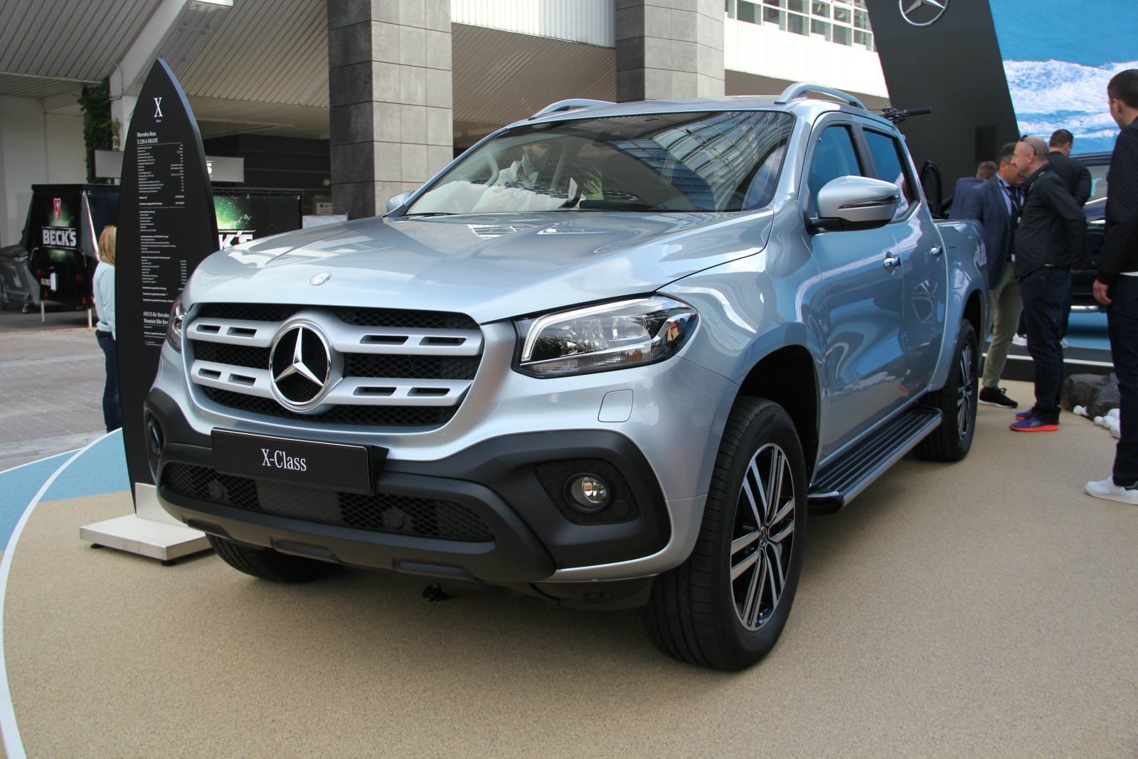 Classe X Mercedes Classe X Pick Up Premium Vidéo En Direct Du