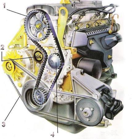 mini schema moteur volvo