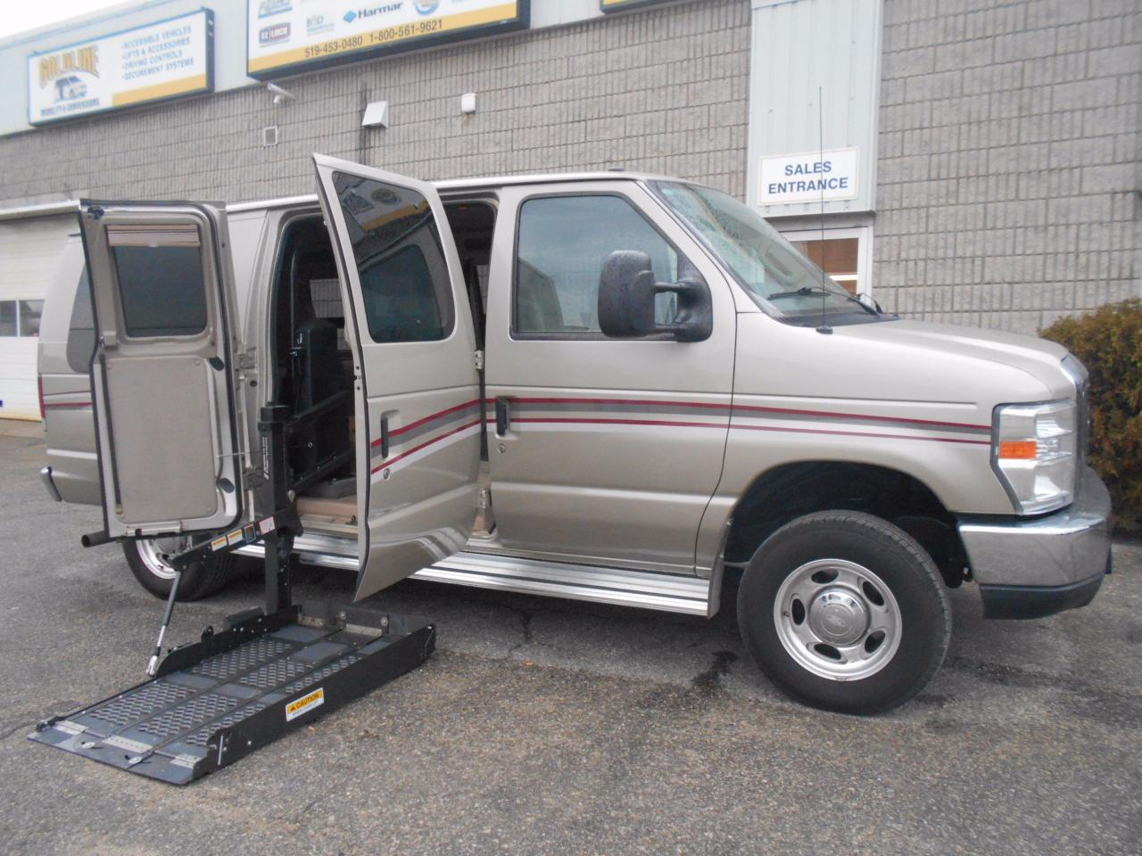 Sofa Bed Sale London Ontario Used 2011 Ford E 150 Wheelchair Accessible Side Lift For