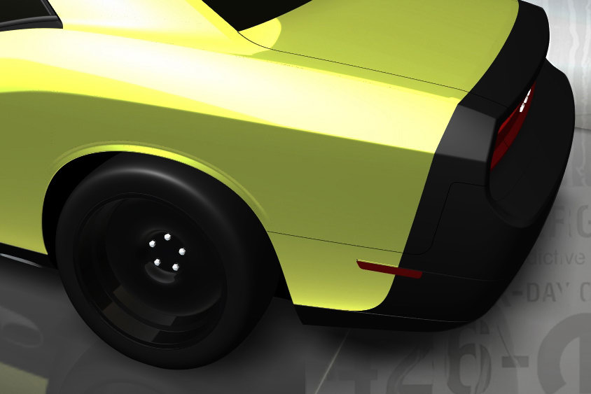 SEMA \u002709 Mopar Dodge Challenger 1320, a 556HP Street Legal Drag Car
