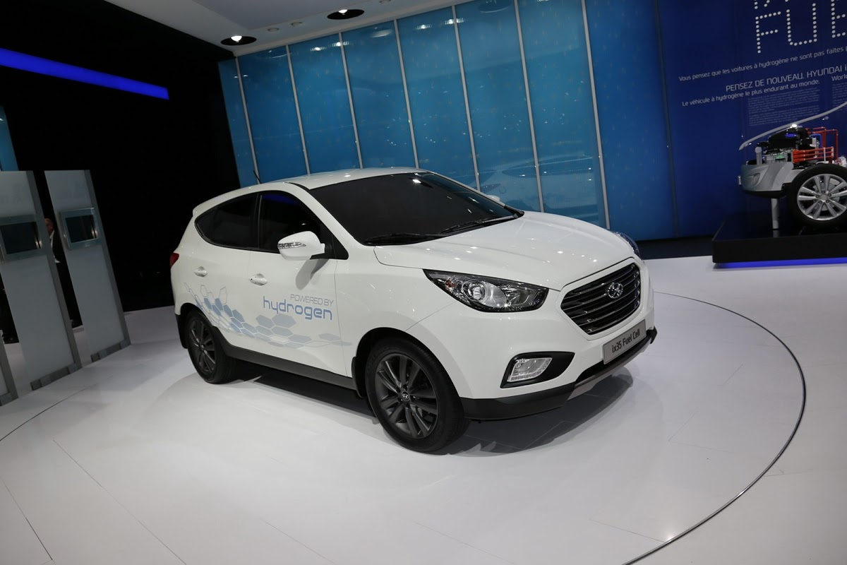 Private Lease Hyundai Hyundai Ix35 Is The First Hydrogen Fuel Cell Vehicle To