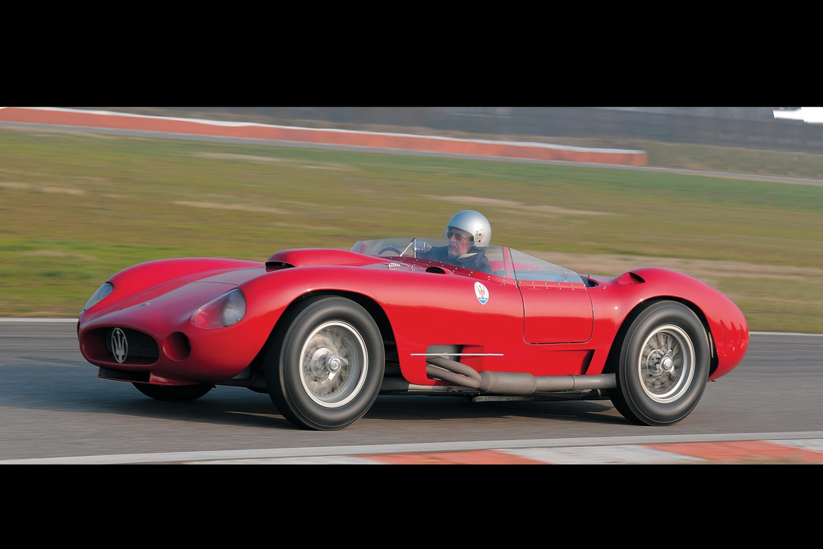 Maserati 350s Maserati 450s Driven By Stirling Moss In 1956 Mille Miglia Could