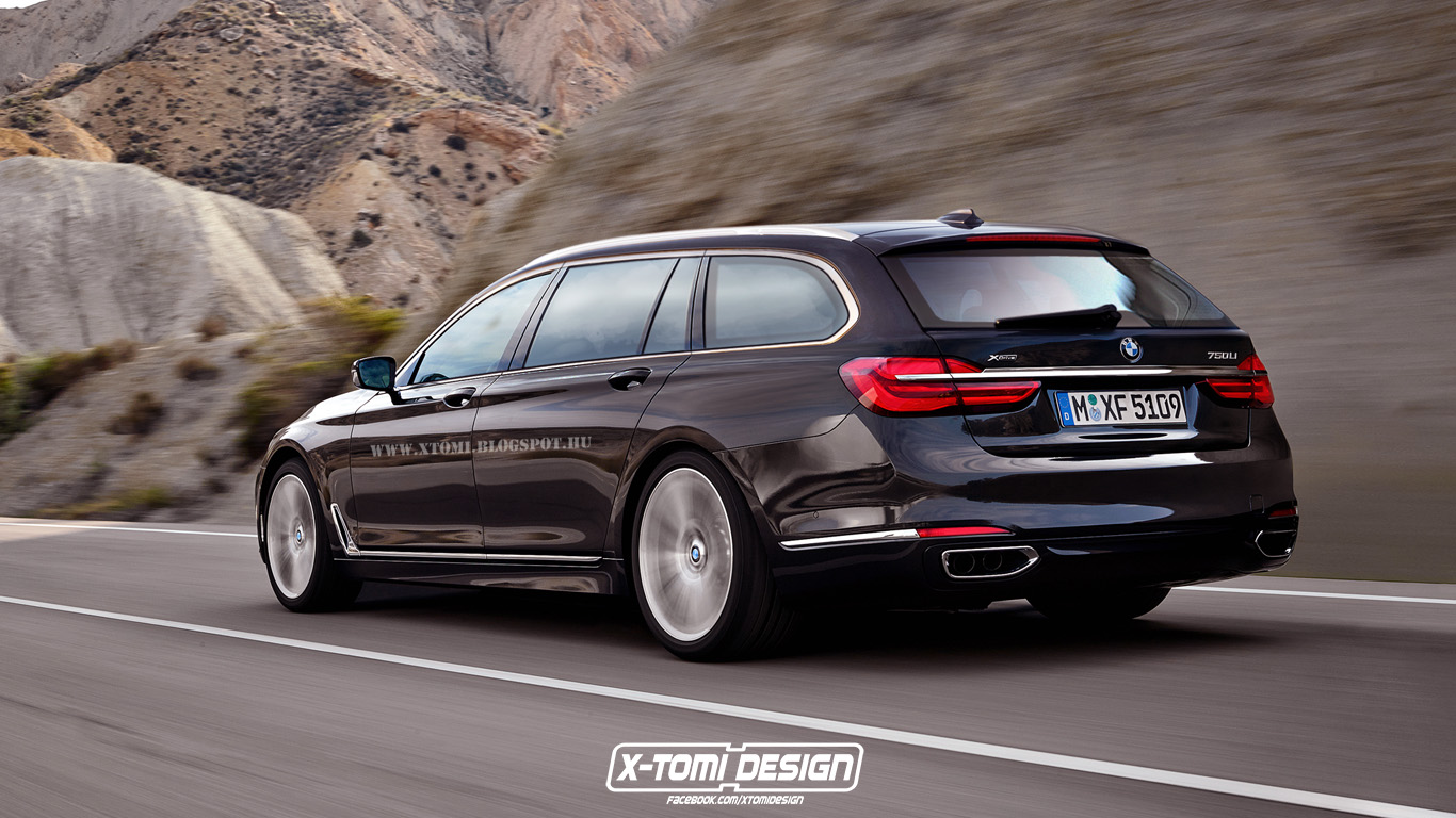 7 Serie The Prospect Of A Bmw 7 Series Touring Is Completely Laughable