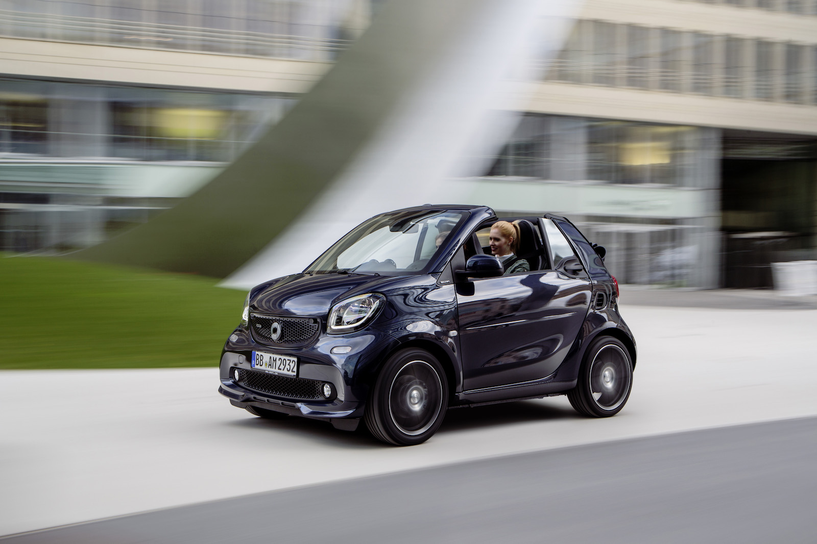 Smart 5 Portes Smart Fortwo Moves Into 2016 My With Fabric Roof Cover For The