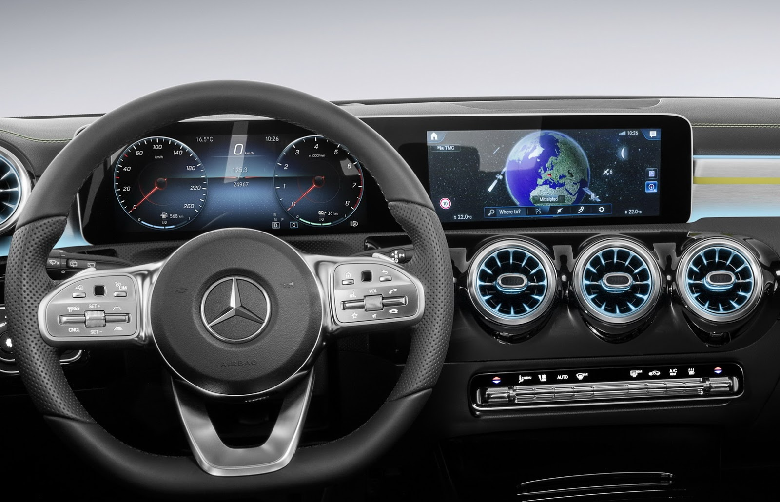 Mercedes B Klasse 2018 Interieur Mercedes To Debut New A Class Mbux Infotainment Systems At Ces