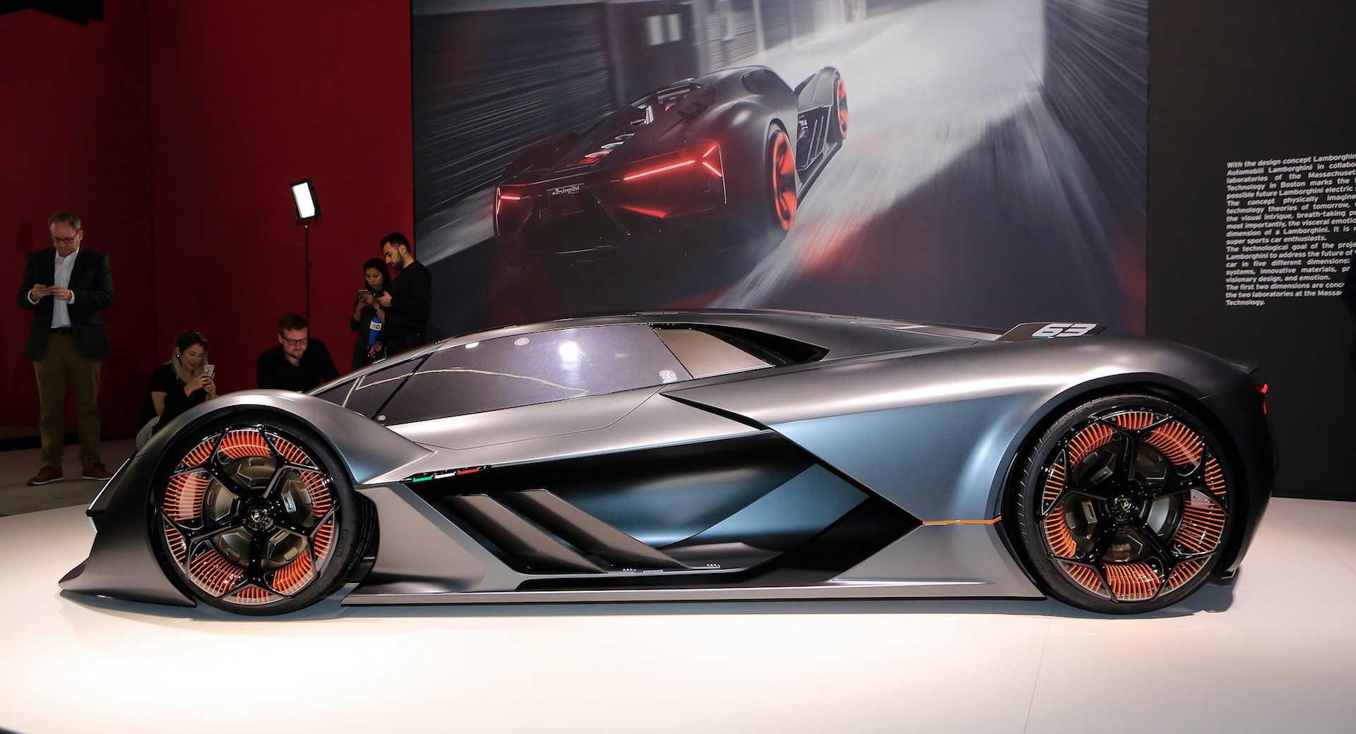 Veneno Hd Wallpaper Lamborghini Terzo Millennio Is A Bat Crazy Concept You