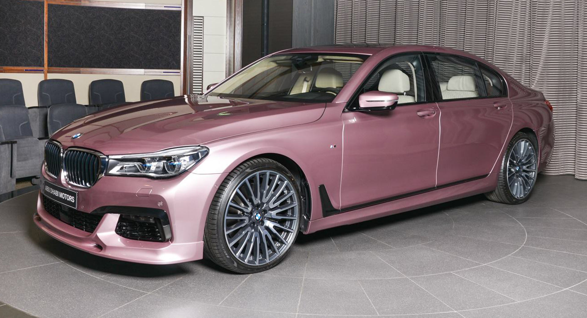 Rose Goud No, That's Not A Pink 750li; It's A Rose Quartz One In Bmw