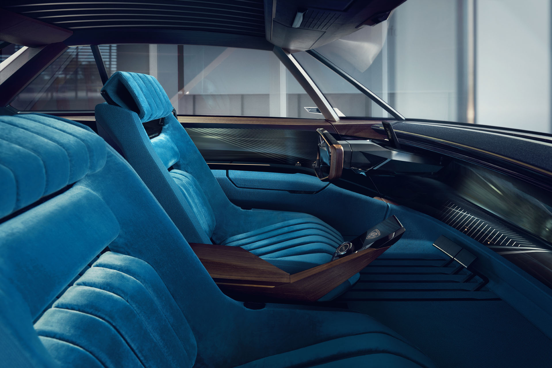 Garage Peugeot Dinan Peugeot E Legend Concept Takes Retro Design Into The Future In Paris