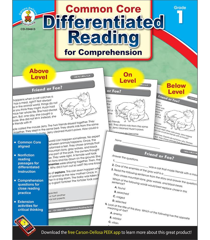 Differentiated Reading For Comprehension Grade 1 Carson Dellosa Wiring Schematics Publishing
