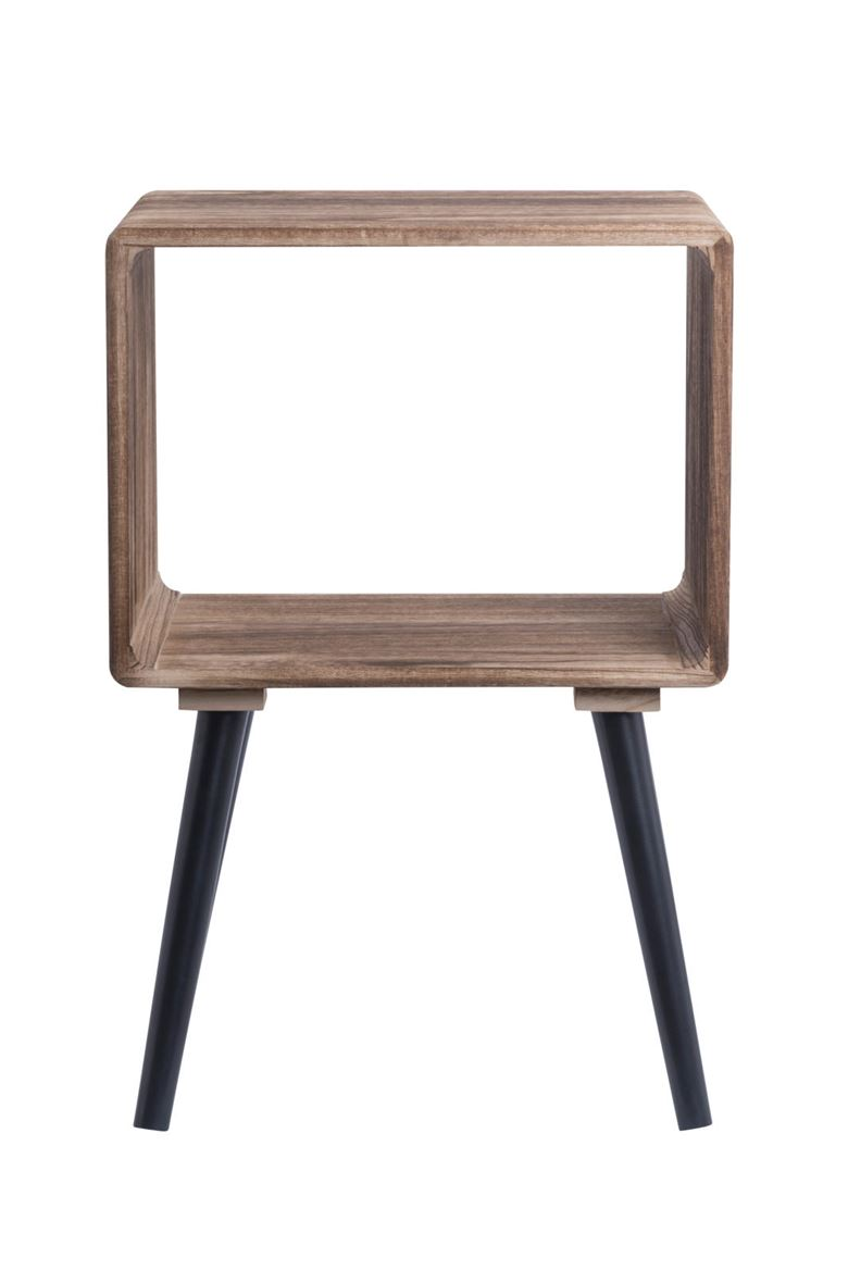 Table De Chevet 30 Cm Kansas Table De Chevet Naturel H 59 X Larg 40 X P 30 Cm