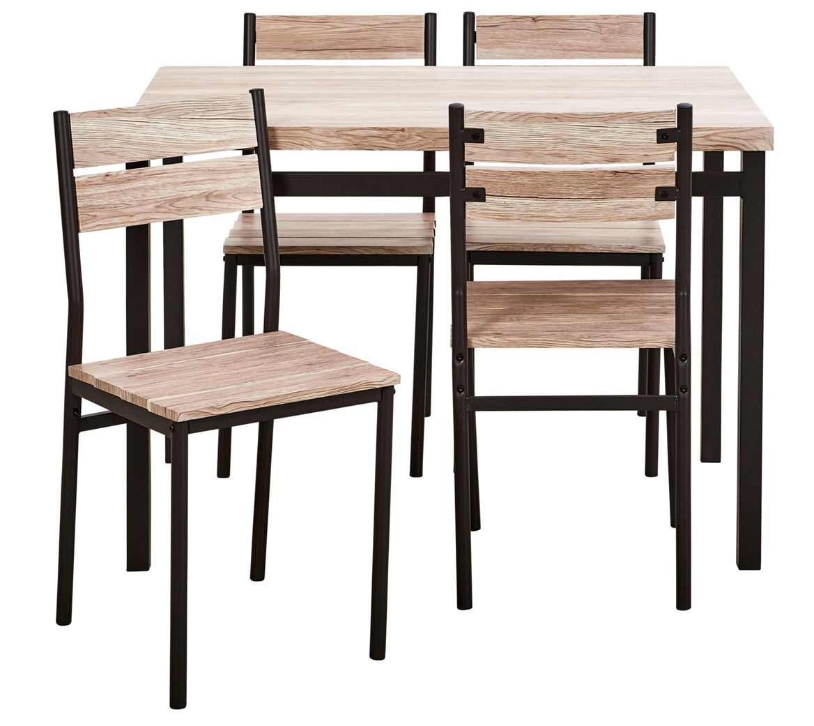Table Avec Chaise Table Ronde Chaises Encastrables