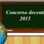 concorso docenti la buona scuola 2015