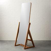 "drommen 25.25""x67"" standing mirror + Reviews | CB2"