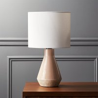 Emmie Pink Ceramic Table Lamp | CB2