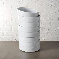 Frank Bauhaus Bowl Set of 8 | CB2