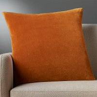 "23"" leisure copper pillow with feather-down insert 