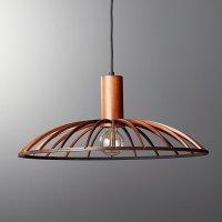 Mermelada Large Wood Cage Pendant Light | CB2