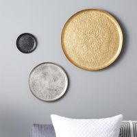 Metal Wall Plate Decor - Home Decorating Ideas & Interior ...