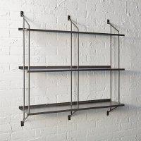stretch modular wall shelf | CB2