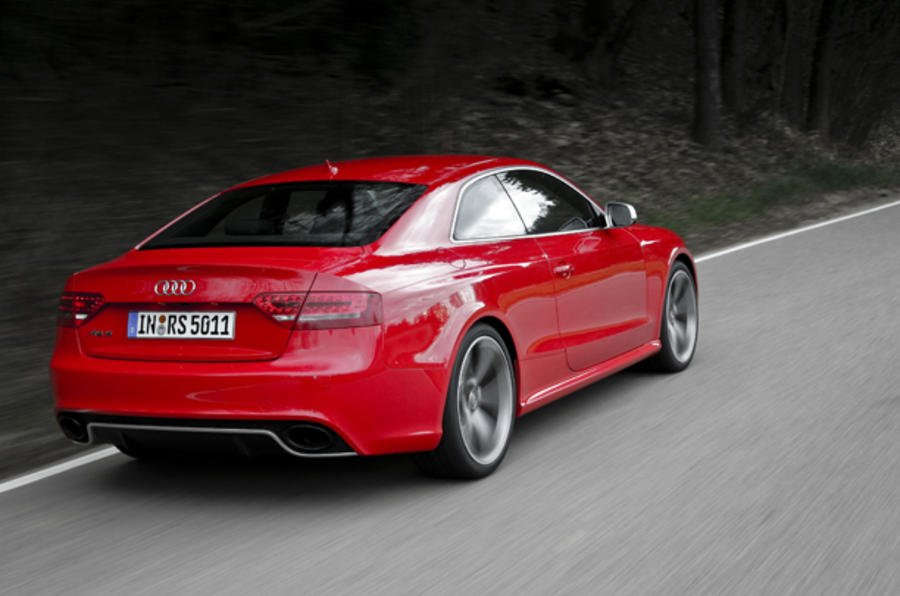 New Hair Frankfurt Audi Rs5 Coupe 4 2 V8 First Drive