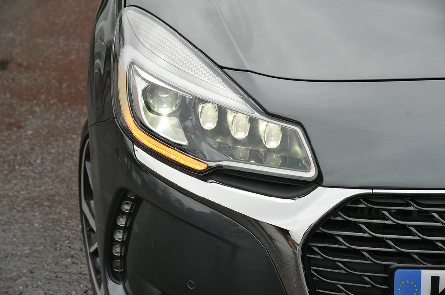 Led Projector Inside Ds 3 Review (2017) | Autocar