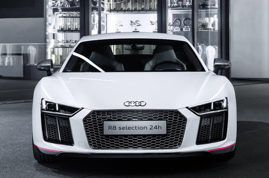 White Audi Car Wallpaper Audi R8 V10 Plus Selection 24h Revealed Autocar