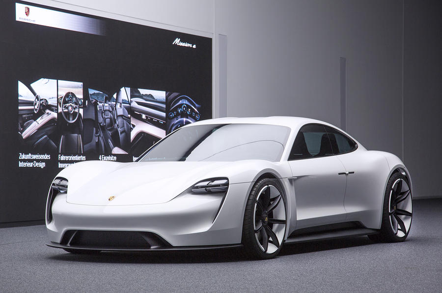 Future Cars 2018 Wallpapers Porsche Mission E Electric Saloon Revealed At Frankfurt