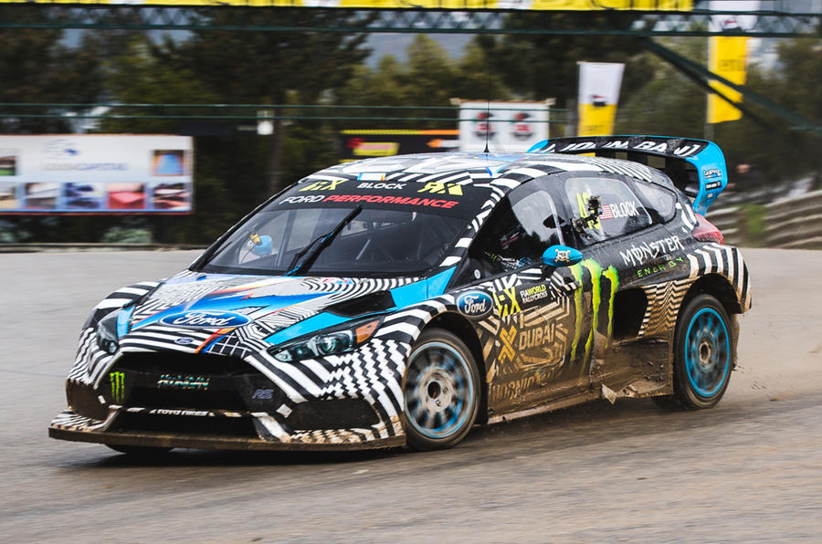 Monster Rally Car Wallpaper New Ford Focus Rs Rx Rallycross Challenger Video Autocar