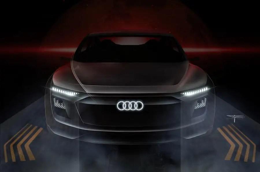 Porsche Boxster Wallpaper Hd Futuristic Audi E Tron Concept Previewed In New Sketches