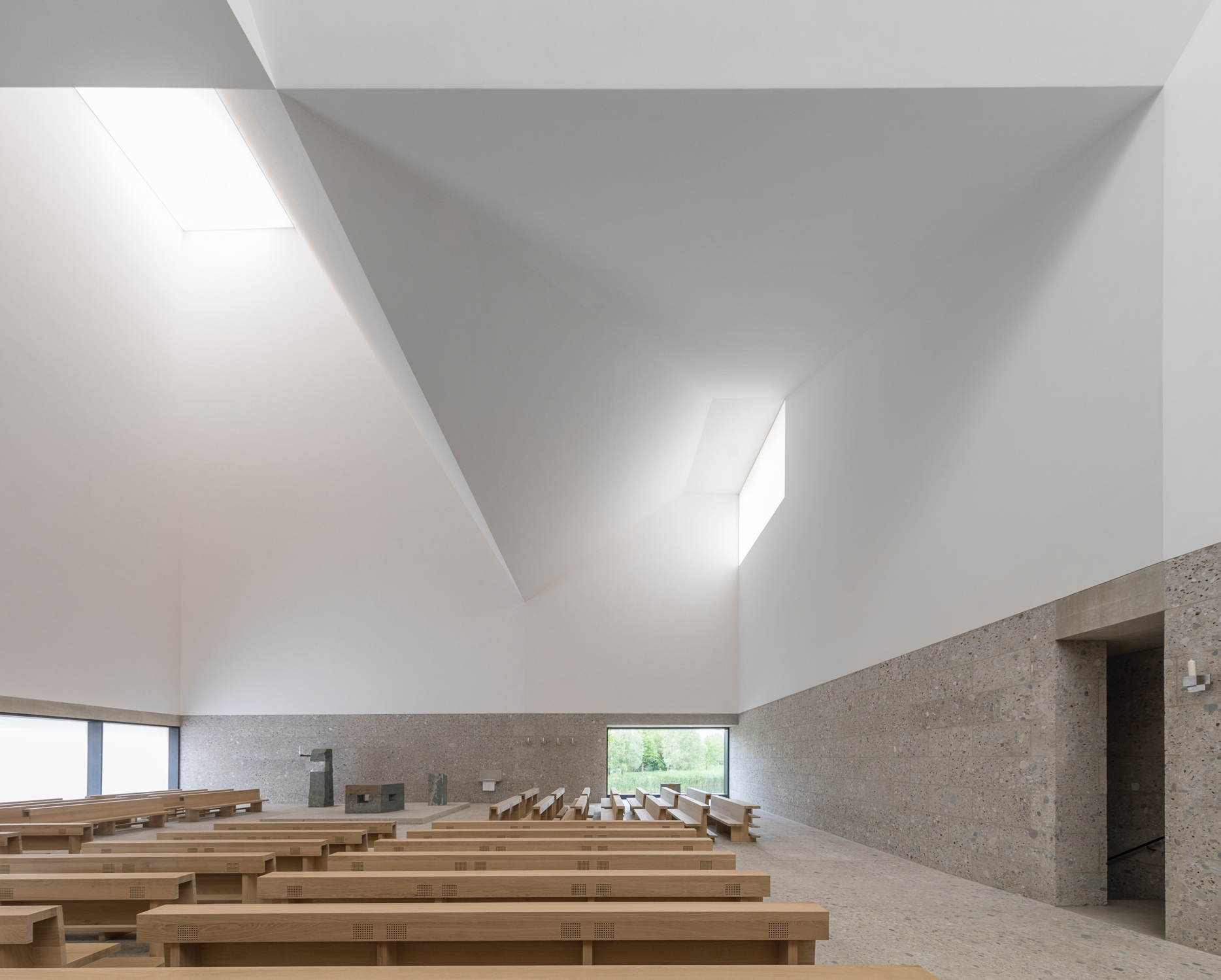 Meck Architekten Katholisches Kirchenzentrum Von Meck Architekten In Poing Der
