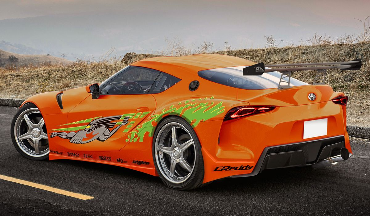 Toyota Supra From The Fast And The Furious We Gave The Toyota Supra Concept A Fast And Furious Makeover