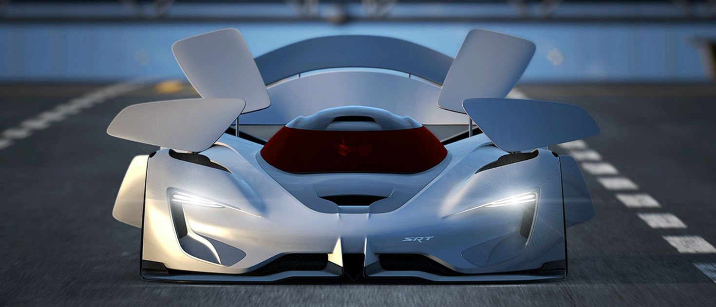 Forza 7 Car Wallpaper The Srt Tomahawk Vision Gt Concept Has The Most Bonkers