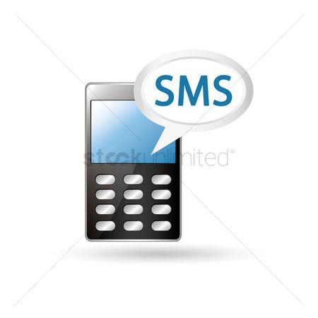 Free Short Message Service Stock Vectors StockUnlimited