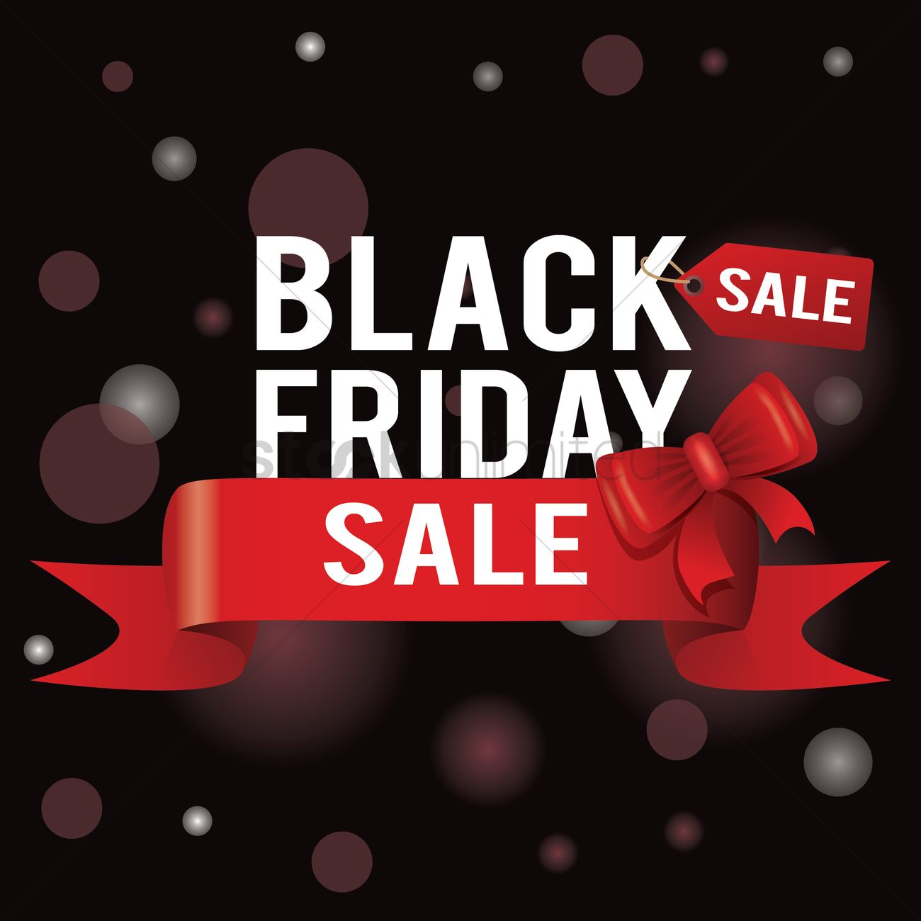 Black Sale Black Friday Sale Wallpaper Vector Image 1583200 Stockunlimited