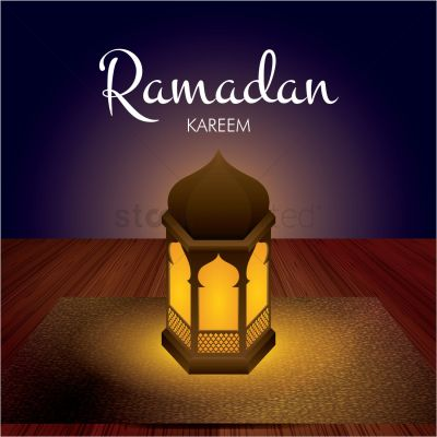 Ramadan kareem greeting Vector Image - 1826944 | StockUnlimited