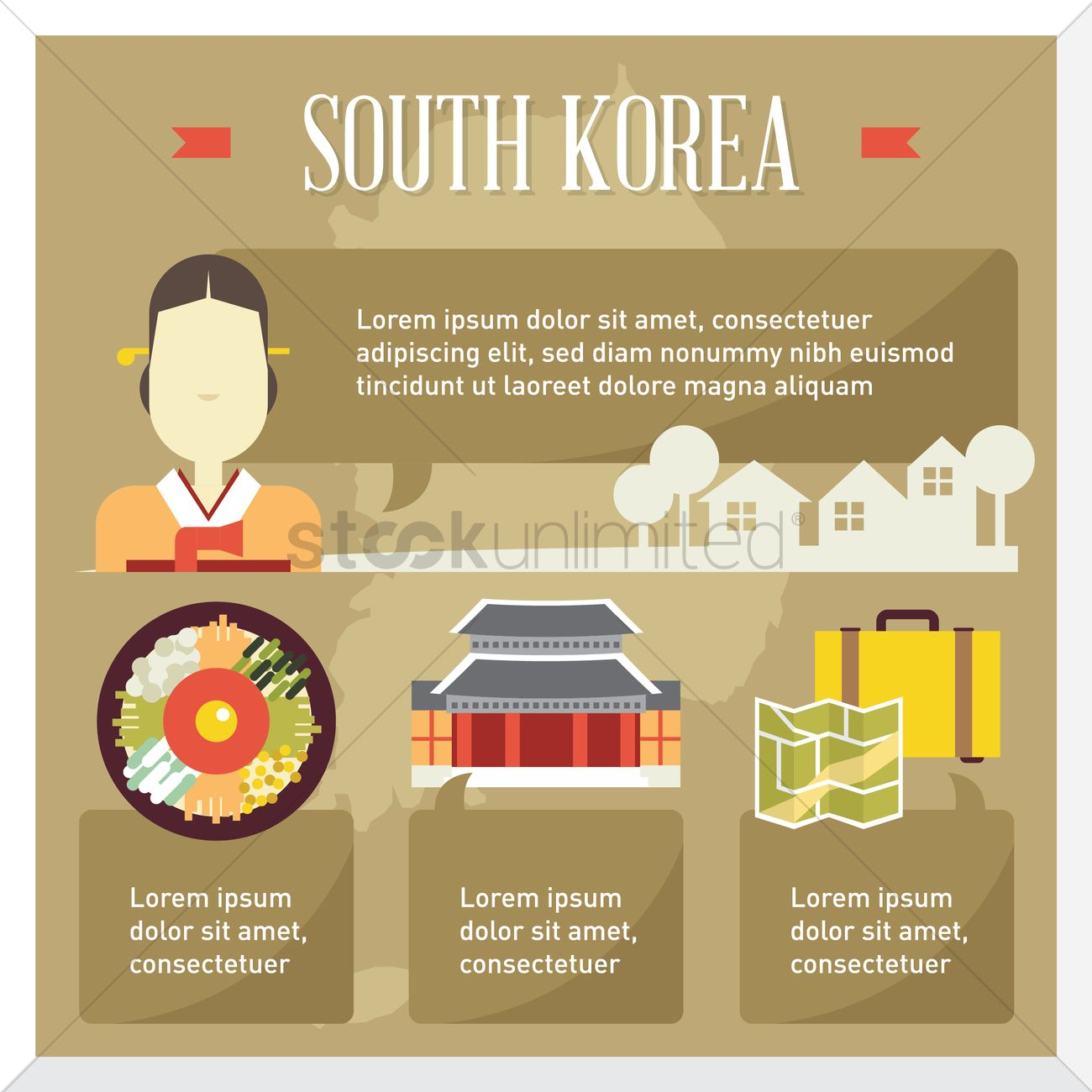 About South Korea South Korea Travel Infographic Vector Image 1518208 Stockunlimited