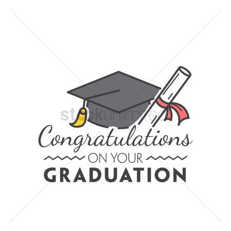 Free Congratulation On Your Graduation Stock Vectors StockUnlimited
