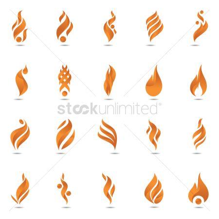 Free Flame Logo Stock Vectors StockUnlimited - flame logo