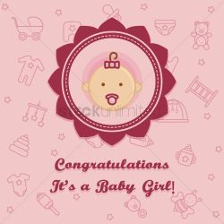 Small Of Congratulations Baby Girl
