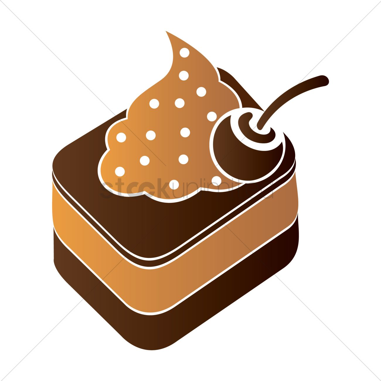 Fhem Icon Küche Cake Icon Vector Image 1953482 Stockunlimited