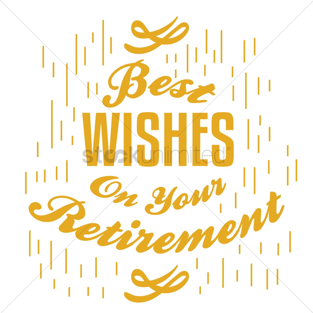 Download Wallpaper Positive Quotes Happy Retirement Wish Vector Image 1827718 Stockunlimited