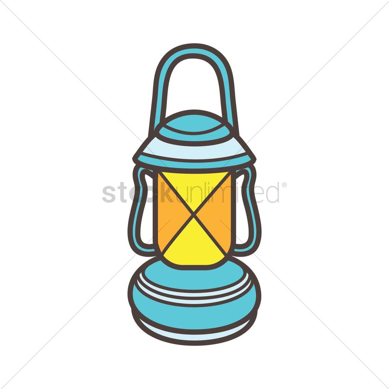 Glass Lamp Vector Kerosene Lamp Vector Image 1863510 Stockunlimited