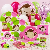 Monkey Baby Shower Decorations | Party Favors Ideas