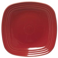 "Homer Laughlin 921 Square Fiesta Dinnerware - 7-1/2"" Plate"