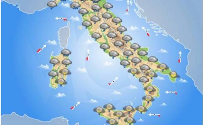 Italia Domani Maltempo Al Nord Piogge Al Centro E