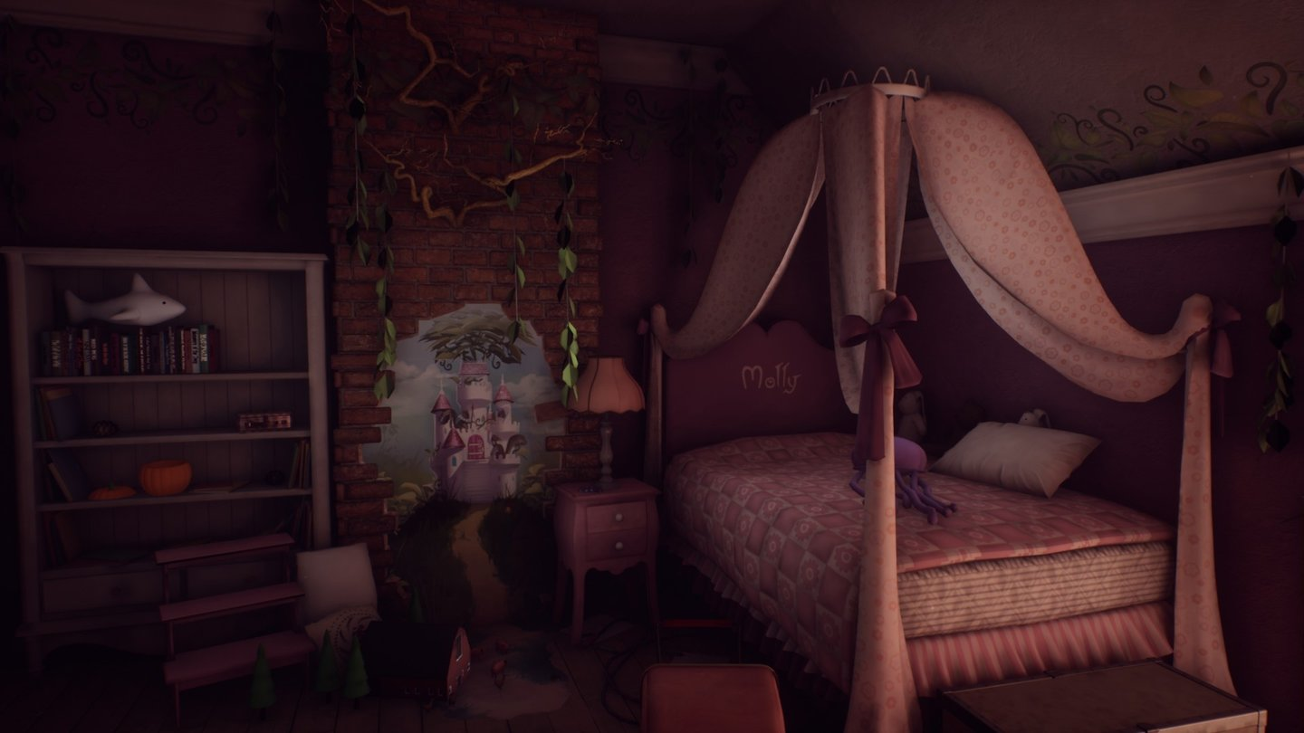 Pc Im Schlafzimmer What Remains Of Edith Finch - Screenshots Aus Der Pc-version