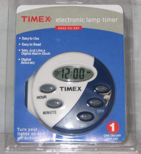 Timex Electronic Easy Set Fan Lamp Light Timer Digital Ebay