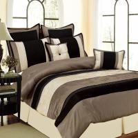 Monarch Oversize 8 Piece Comforter Set -3 Color Options