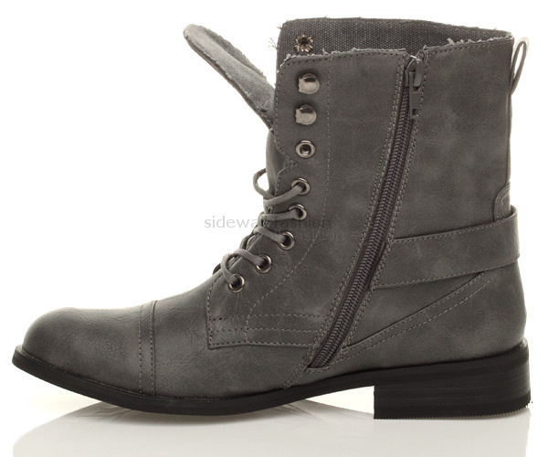 21 Amazing Grey Combat Boots Women Sobatapkcom