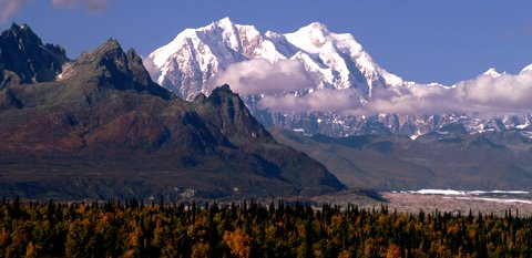 Mt. Hunter. In any other state this would be the crown jewel. In Alaska it's nothing special.